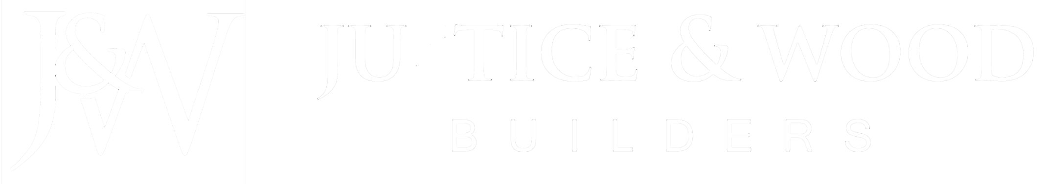 Justice and Wood Builders logo